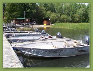 Eagle Lake Sportsmen's Lodge Boats