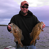 Smallmouth Bass caught at Eagle Lake Sportsmens Lodge