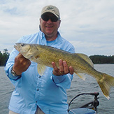 Nice Walleye caught at Eagle Lake Sportsmens Lodge