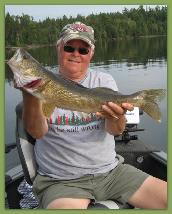 Large Walleye